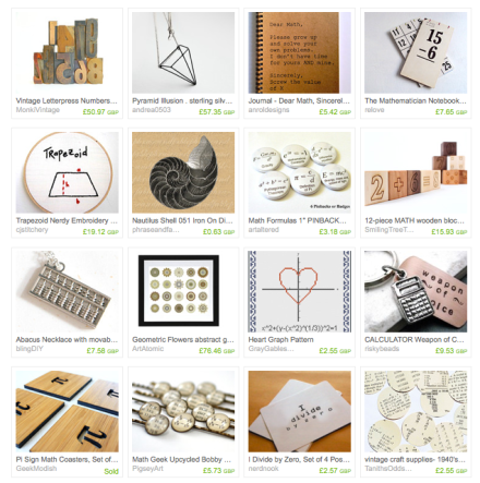 Math geeky gifts