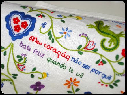 lenço de namorados